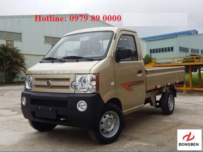 Xe Ô Tô DongBen tải trọng nhỏ 870kg thùng lửng 0