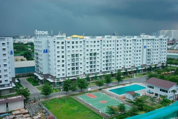 Cho thuê căn hộ Central Garden -  Q1 , dt 76m2 , 2 phòng ngủ, nội thất đầy đủ