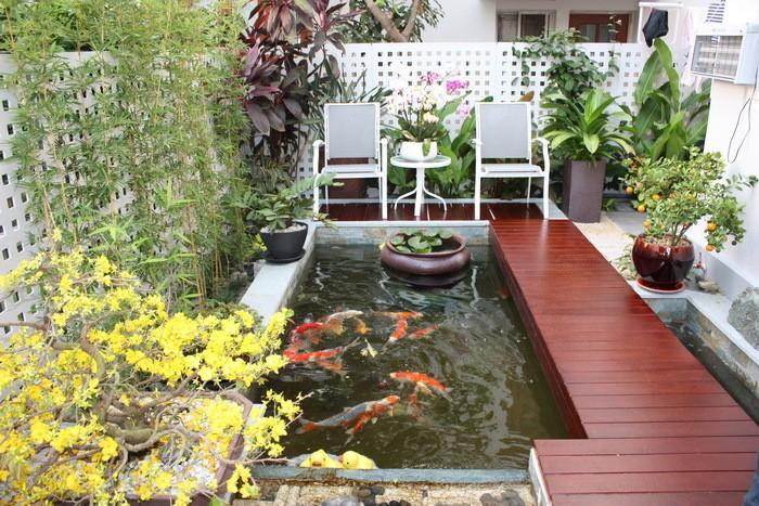 Bán nhà biệt thự 2 Mặt Tiền HXH Đặng Văn Ngữ, 6.2x21m, nhà 3 tầng tuyệt đẹp. Hồ cá KOI