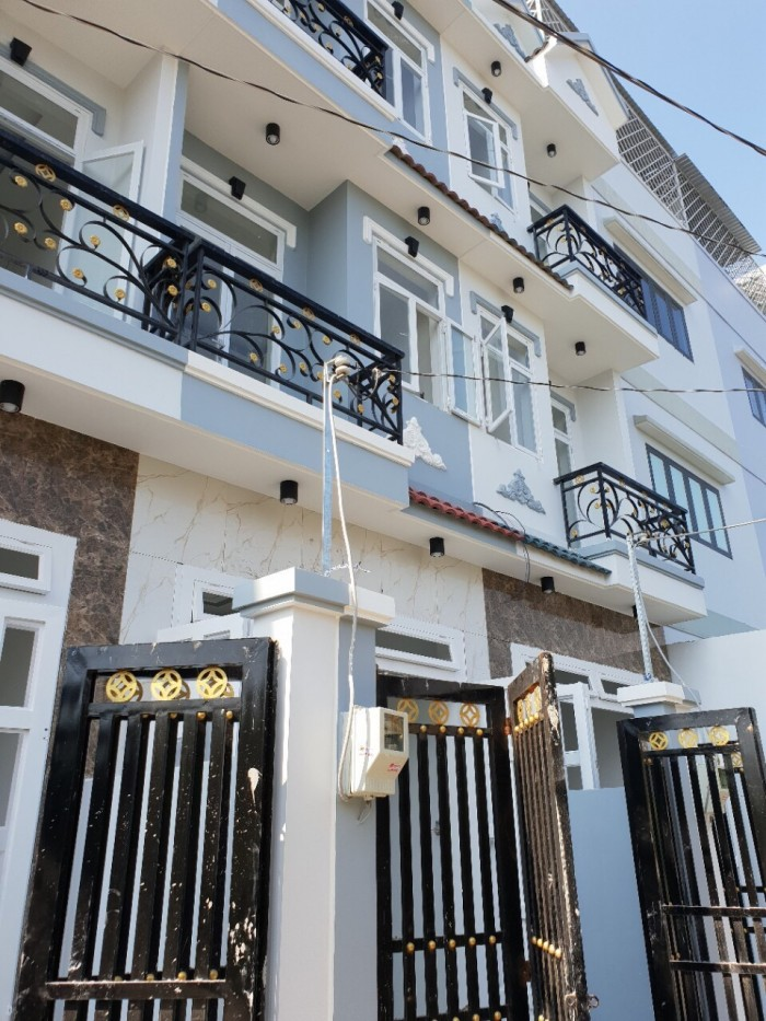 Bán nhà hẻm 2266 Huỳnh Tấn Phát, Nhà Bè, 2 lầu 4PN, DT 96m2