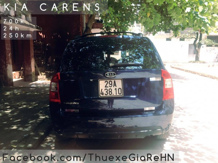 cho thuê xe tự lái có lái 7 chỗ Kia Carens giá rẻ tại hà nội 2