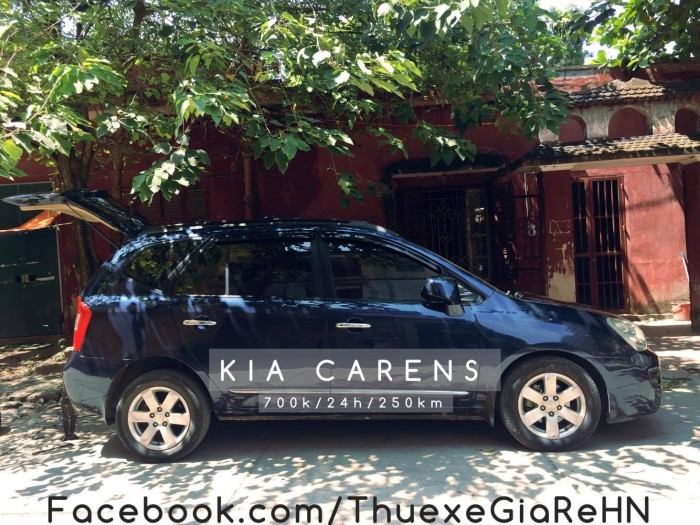 cho thuê xe tự lái có lái 7 chỗ Kia Carens giá rẻ tại hà nội 1