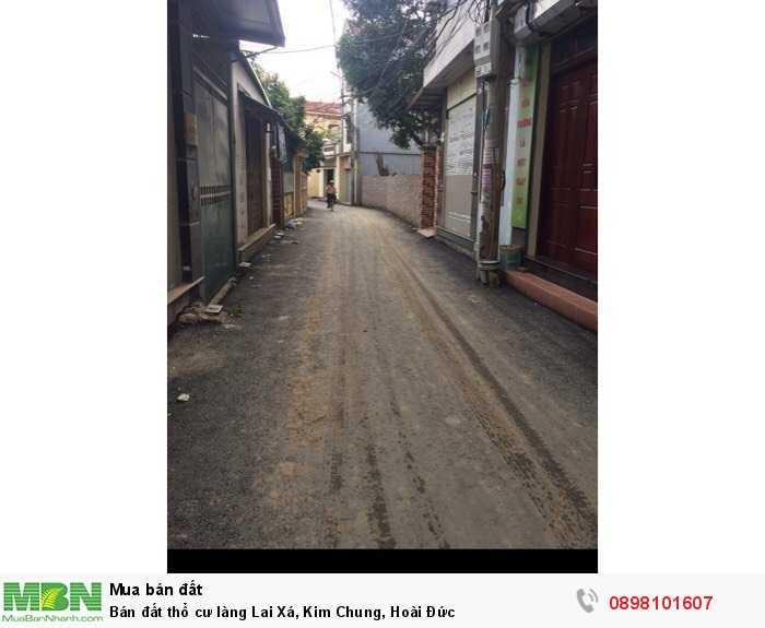 Bán đất thổ cư làng Lai Xá, Kim Chung, Hoài Đức