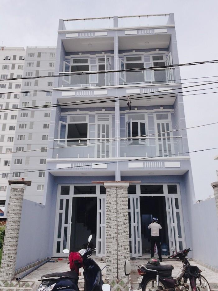 Bán nhà đường Huỳnh Tấn Phát, Nhà Bè, Tp.HCM. Ngay chung cư Anh Tuấn, DT 162m2, 2 lầu, sân thượng