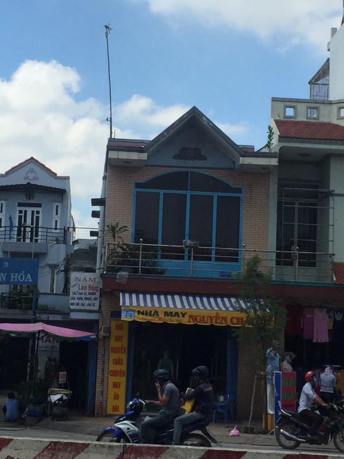 Nhà MTKD Lê Trọng Tấn, 4x18,5m, đúc 1 lầu, sổ hồng