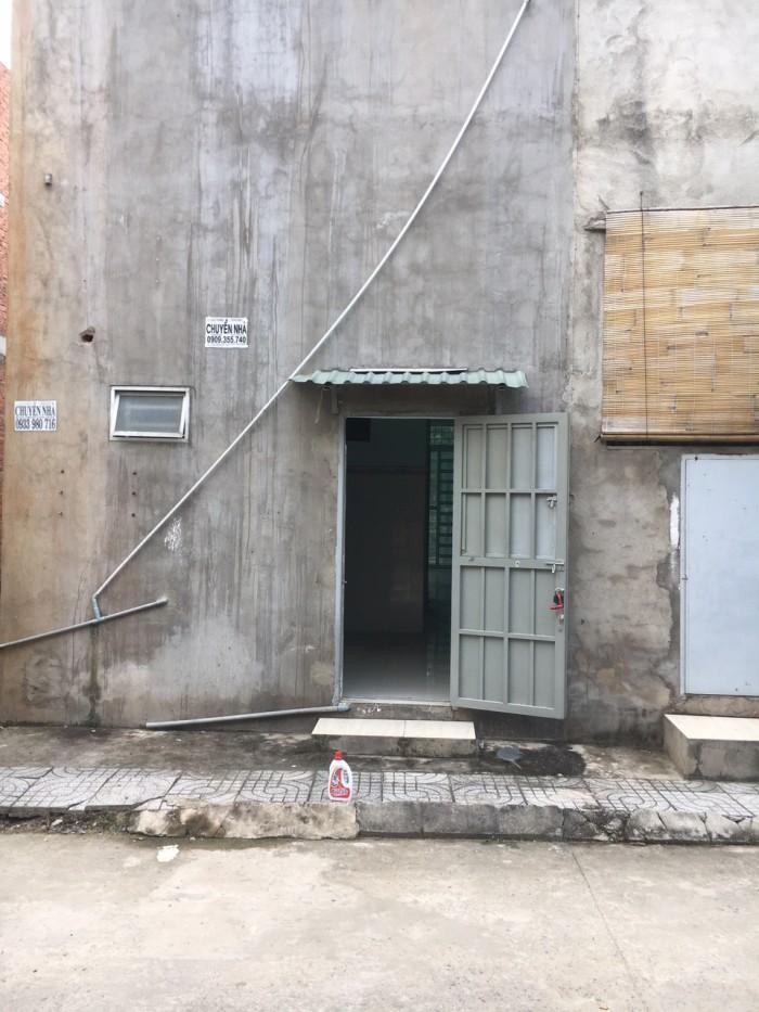 Bán mặt tiền trước sau 1 sẹc Hà Huy Giáp Q12.