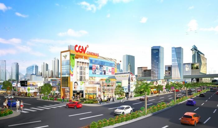 Đất nền dự án central mall Long Thành,mặt tiền quốc lộ 51