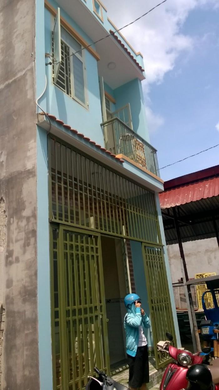 Bán nhà 4x12m trệt, lầu liên ấp 1 tổ 11,12 Vĩnh Lộc A Bình Chánh