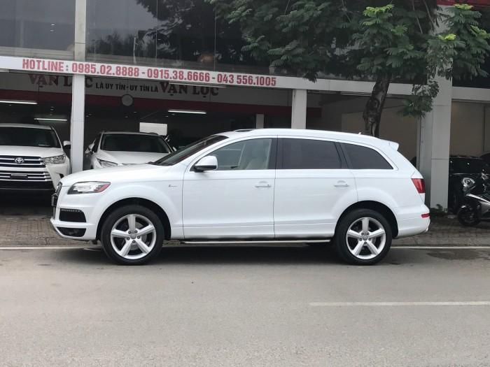 Audi Q7 2014 màu trắng 11