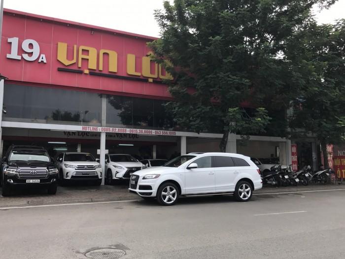 Audi Q7 2014 màu trắng 8