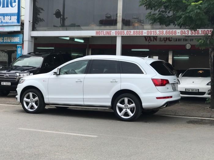 Audi Q7 2014 màu trắng 6