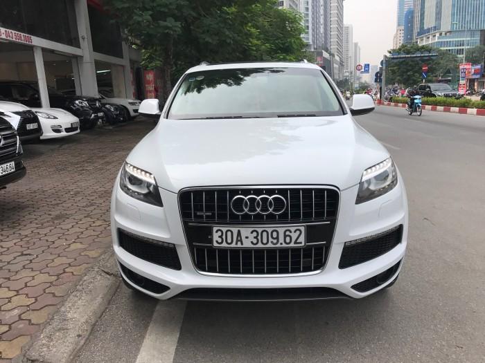Audi Q7 sản xuất năm 2014 Số tự động Động cơ Xăng