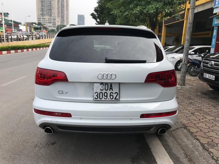 Audi Q7 2014 màu trắng