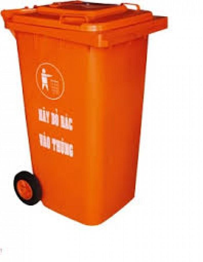 Cung cấp thùng rác 240 lít giá rẻ3