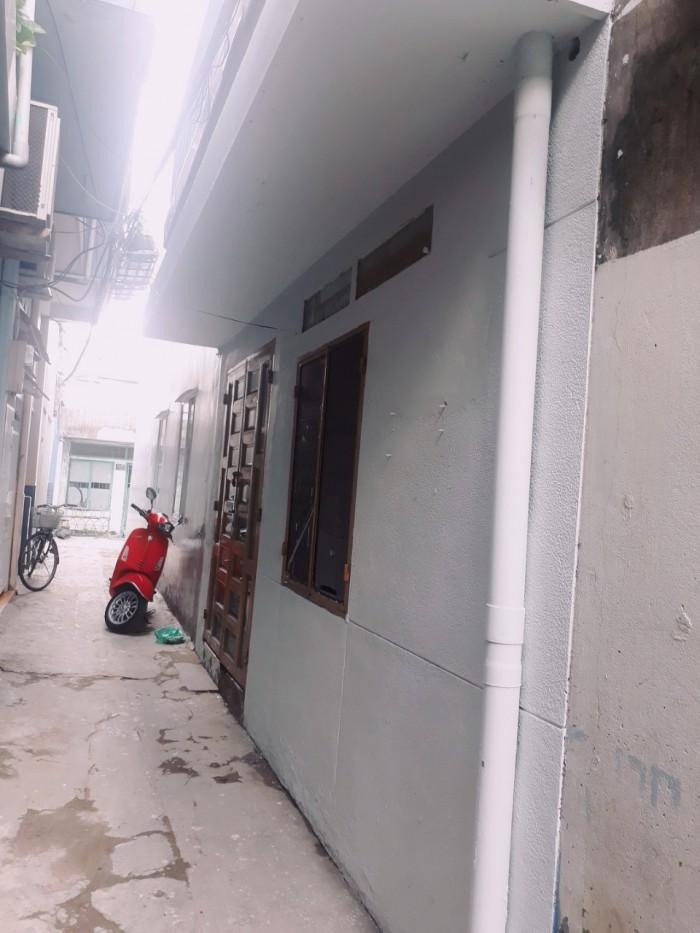Bán nhà hẻm 283 Nơ Trang Long 5 x 3m, 1 lầu, 2 WC