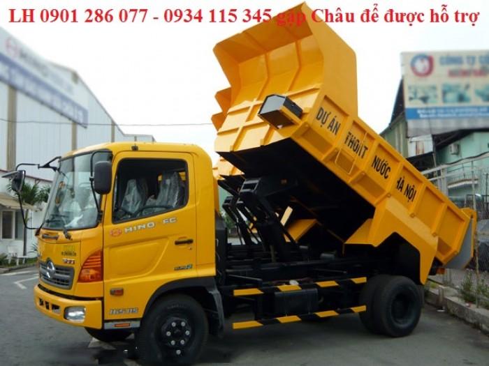 Xe ben Hino 6 tấn FC/ bền bỉ, mạnh mẽ/giá cạnh tranh/ hỗ trợ trả góp/ duyệt nhanh/ lấy xe nhanh 2