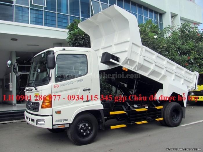 Xe ben Hino 6 tấn FC/ bền bỉ, mạnh mẽ/giá cạnh tranh/ hỗ trợ trả góp/ duyệt nhanh/ lấy xe nhanh 3