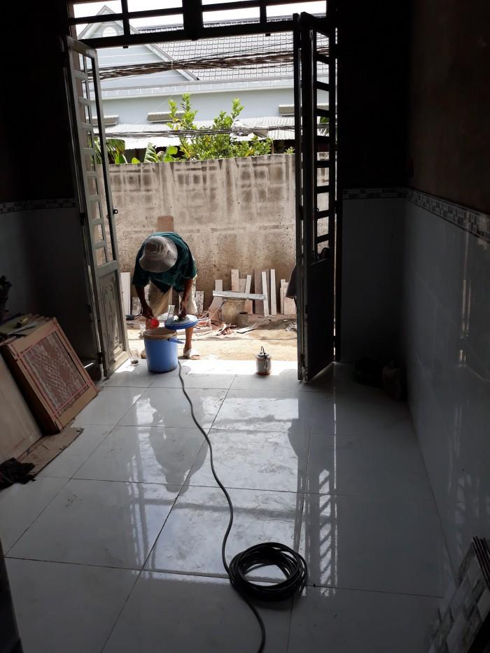 Bán nhà 1 lầu, sân thượng Hương Lộ 11, Xã Tân Kim, Cần Giuộc giá 870tr