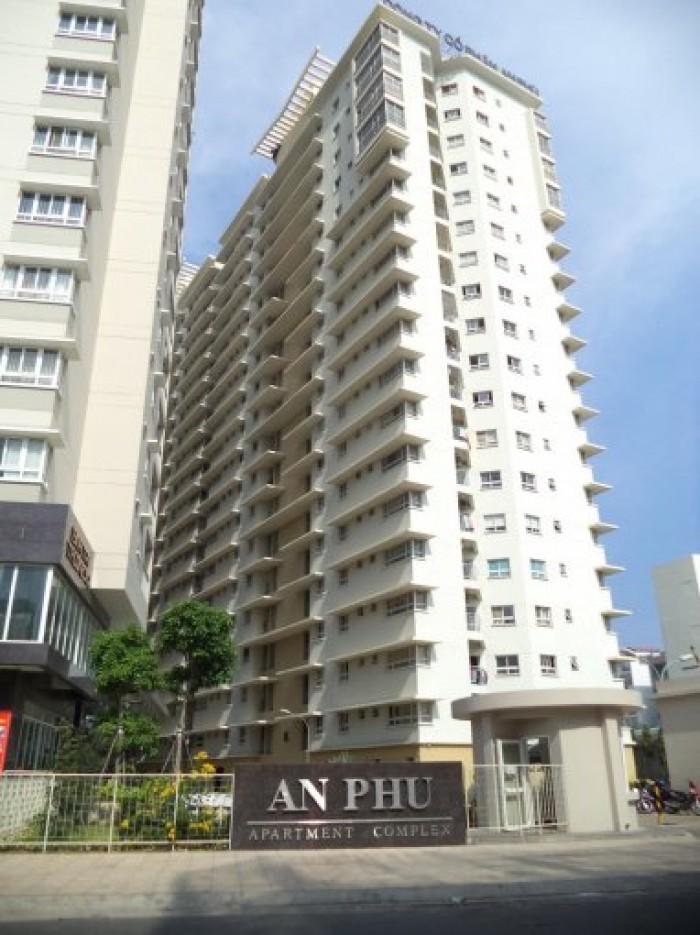 Cần bán gấp căn hộ An Phú – quận 6 ,Dt 95m2, 3 phòng ngủ, nhà rộng thoáng mát