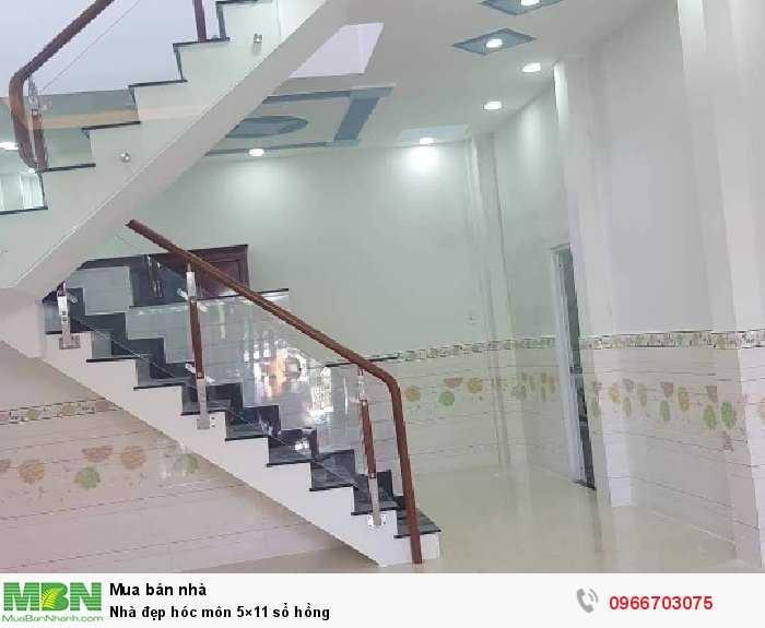 Nhà đẹp Hóc Môn 5×11 sổ hồng