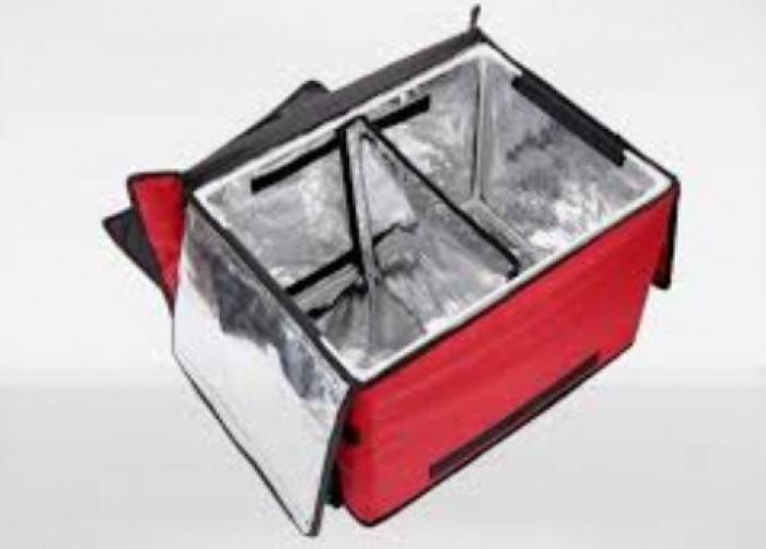 xưởng may túi giữ nhiệt hộp cơm giá rẽ - may in thêu logo theo yêu câu