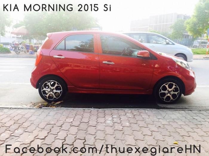 thuê xe tự lái có lái 4 chỗ Kia Morning Si số tự động giá rẻ tại hà nội