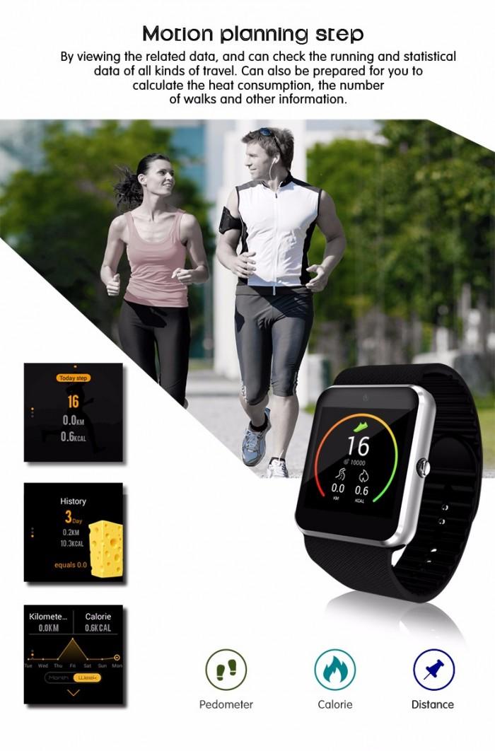 Đồng Hồ thông minh WiFi sim độc lập PKCB 08 Smart Watch màn hình cảm ứng