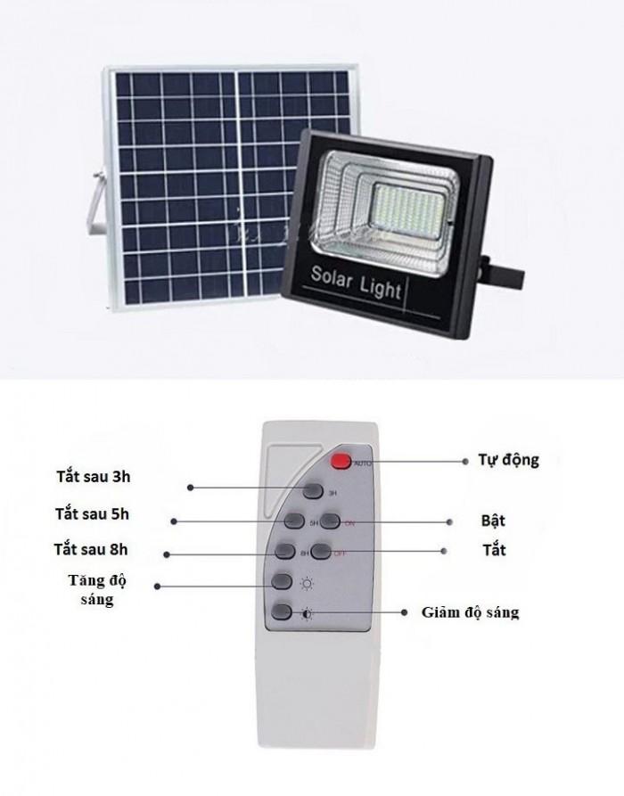 Đèn pha năng lượng mặt trời 100W MayorWolf1