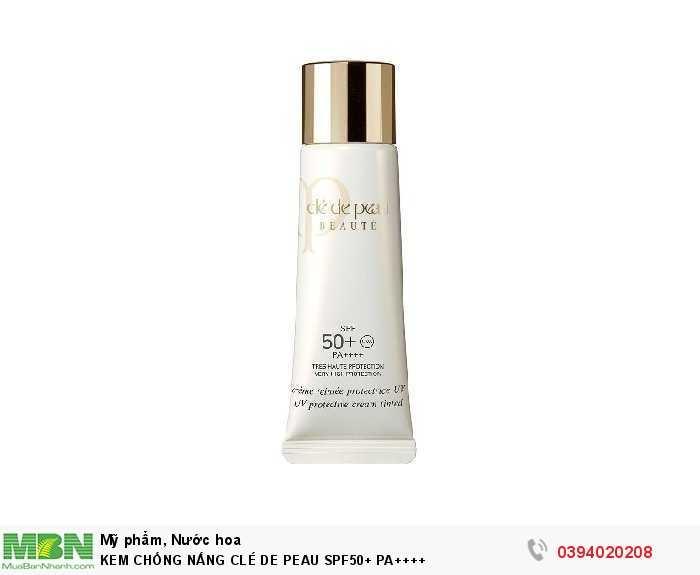 Kem chống nắng clé de peau spf50+ pa++++