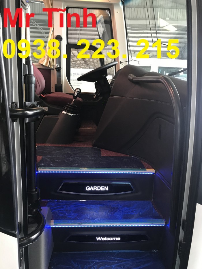Bán xe 29 chỗ Tb79 Thaco garden Mới giá rẻ-trả góp 85%-giao xe nhanh tại sài gòn 8
