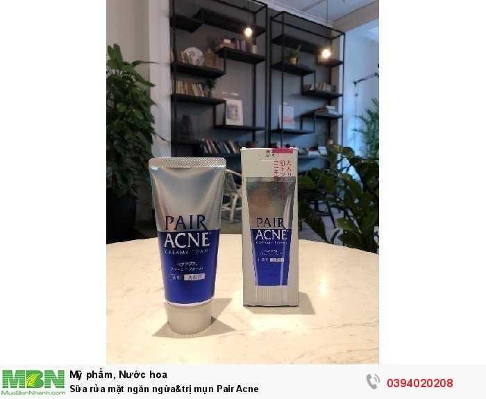 Sữa rửa mặt ngăn ngừa&trị mụn Pair Acne