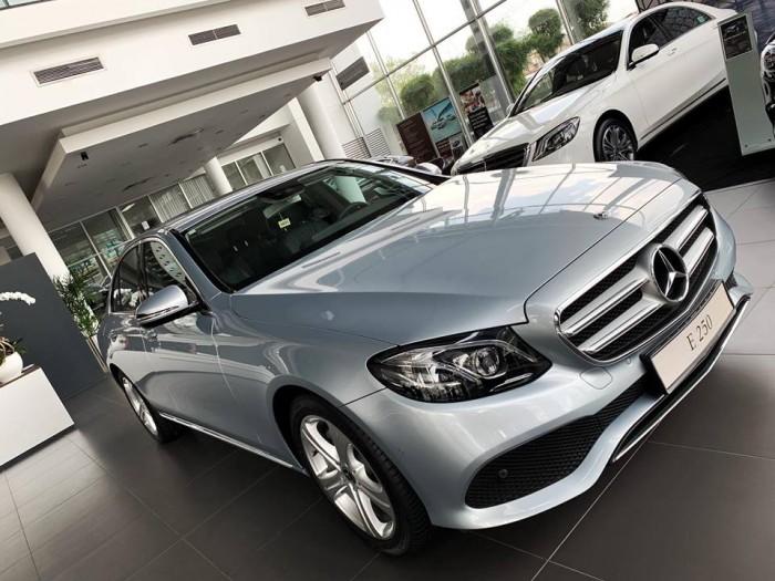 Báo giá Mercedes E250 mới 100%, hổ trợ vay vốn 80% , lãi suất ưu đãi chỉ 6%/năm