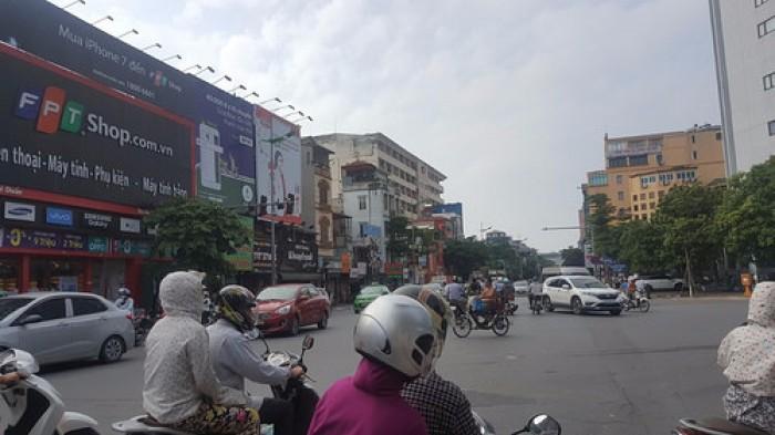 Nhà Quận Hoàng Mai Giải Phóng, Lô góc mặt Phố 41m2, vỉa hè, Kinh Doanh