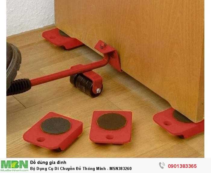 Bộ dụng cụ có thể giúp bạn nâng và di chuyển đồ đạc với kích thước cồn...