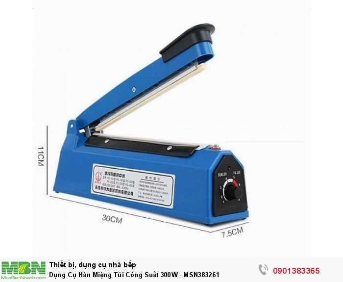 Dụng Cụ Hàn Miệng Túi Công Suất 300W - MSN383261
