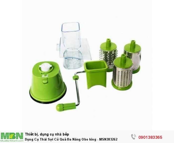 Sản phẩm được làm từ nhựa cao cấp. Các lưỡi gọt được làm từ Inox chất lượng cao, không rỉ sét , an toàn tuyệt đối cho sức khỏe gia đình bạn.3