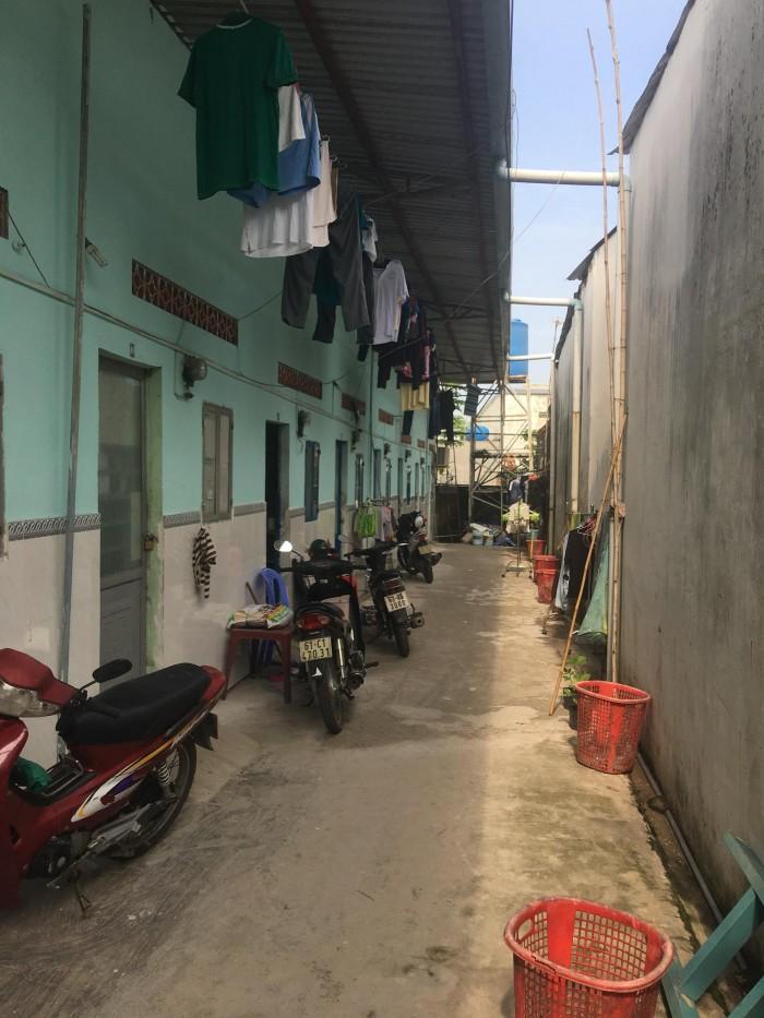 Cần bán dãy trọ 300m2, có 10 phòng,thu nhập 1,2tr/tháng chưa tính điện nước, Bình Nhâm, Lái Thiêu.