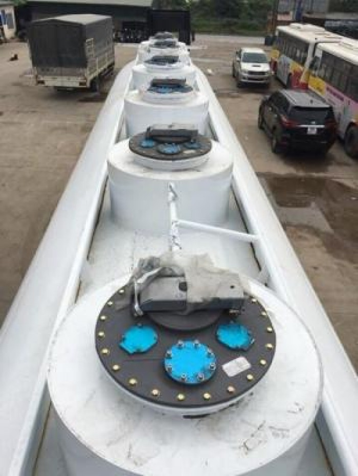 Xe Xi téc chở xăng dầu, hóa chất và mooc xăng dầu hóa chất