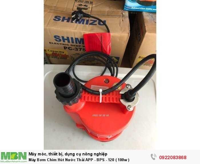 Máy Bơm Chìm Hút Nước Thải APP - BPS - 120 ( 100w )1