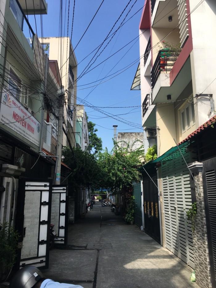 Bán nhà hẻm xe hơi 6m Tân Quý,DT:4mx16m, 2 Lầu