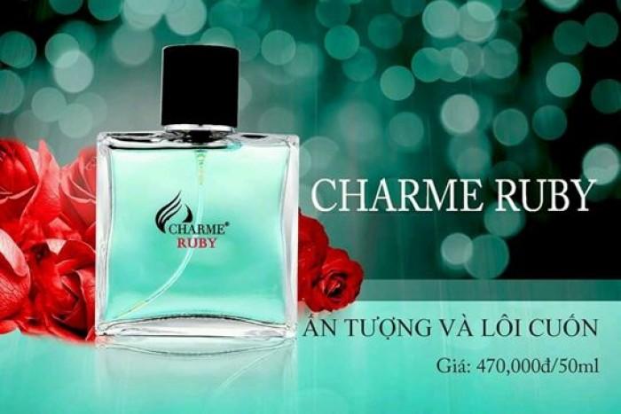 Nếu ai mê mùi Tendre_Hermes thì Charme_Ruby sẽ là lựa chọn chính xác nhất TendreHermes- Mang hương nồng,ấm, cay, gỗ.