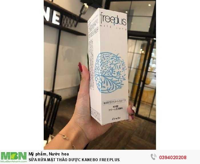 Sữa Rửa Mặt Thảo Dược Kanebo Freeplus