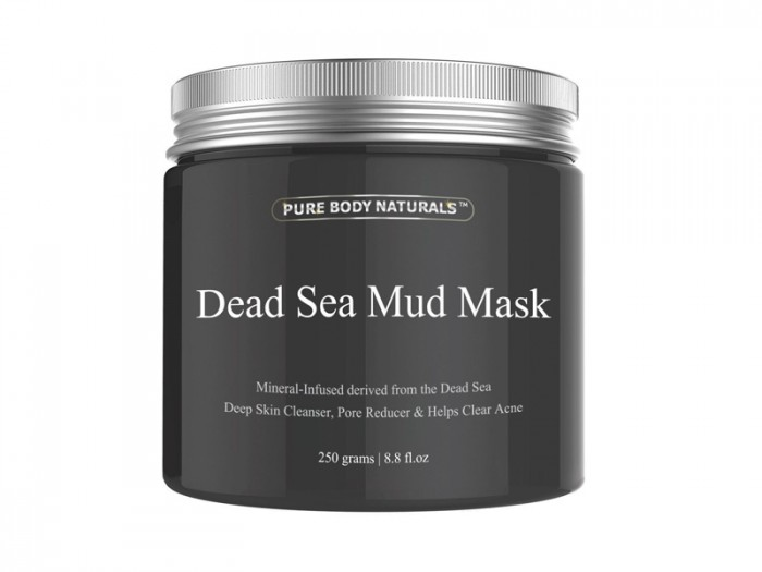 Mặt Nạ Bùn Khoáng Từ Biển Chết 250 grams, (Dead Sea Mud Mask) (Pure Body Naturals)