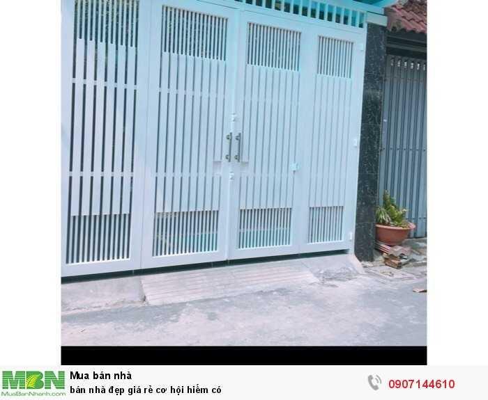Bán nhà đẹp giá rẻ cơ hội hiếm có