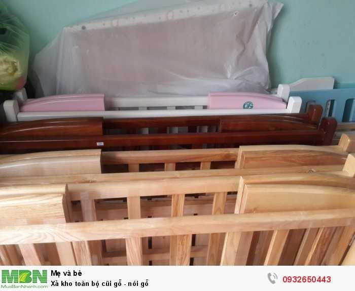 Xả kho toàn bộ cũi gỗ - nôi gỗ0