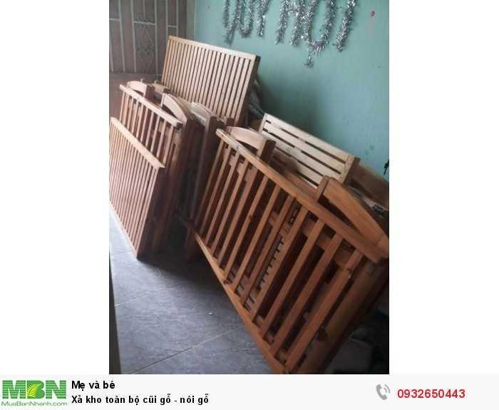 Xả kho toàn bộ cũi gỗ - nôi gỗ3