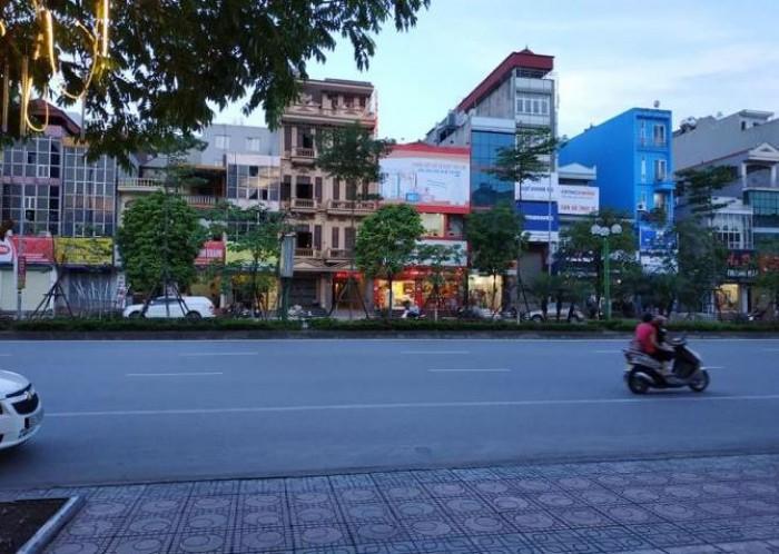Bán nhà mặt Phố Trần Khát Chân, kinh doanh sầm uất 58mx4 tầng