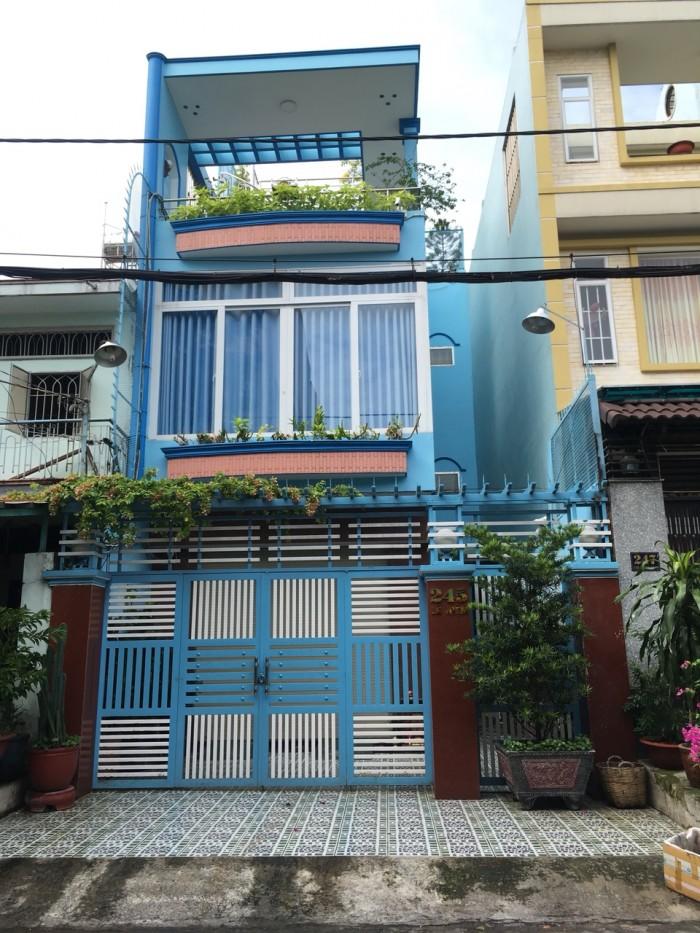 Bán nhà HXH Nguyễn Cửu Đàm 4x15 đúc 2.5 tấm P. Tân Sơn Nhì