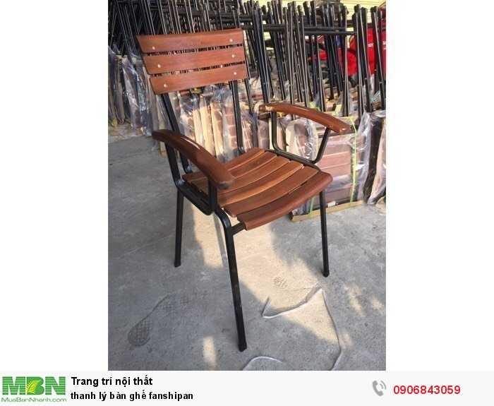 Thanh lý bàn ghế fanshipan
