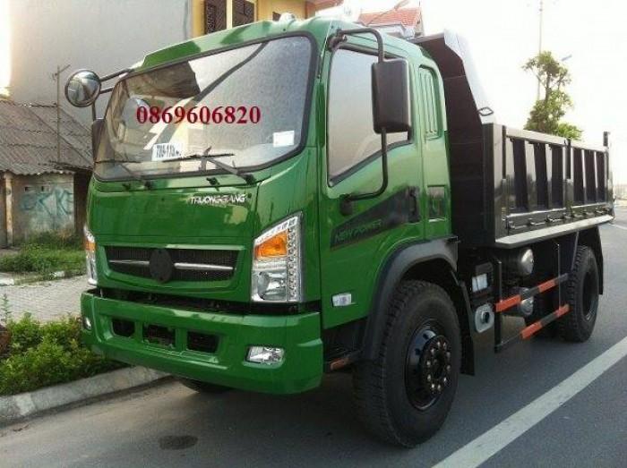 Xe tải ben Trường Giang - Chất lượng tốt, giá thành rẻ nhất